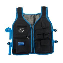 Chaleco portaheramientas con múltiples bolsillos
