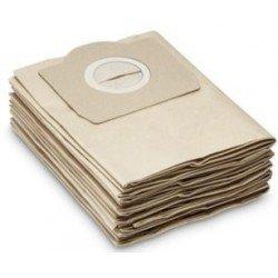 Paquete 5 bolsas en papel para aspirador LEMAN modelo LOAPS301