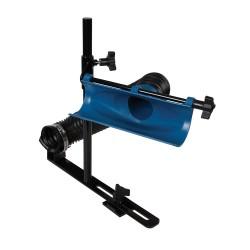 Sistema de extracción de polvo para tornos de madera y máquinas de corte