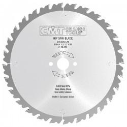 Sierra circular de Widia para madera ANTI-RETROCESO de 300 mm. y 28 dientes