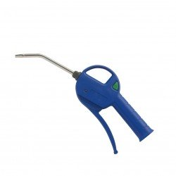 Pistola sopladora uso profesional con racord boquilla larga