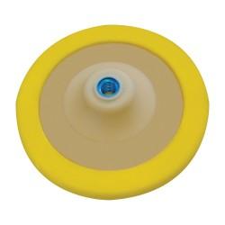 Plato con soporte velcro poliuretano blando de 180 mm.