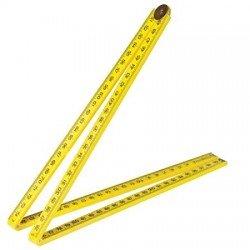 Regla métrica plegable de 1.000 mm.