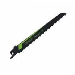 Paquete 5 hojas sierra de sable corte recto , chapas metalicas y tubos.