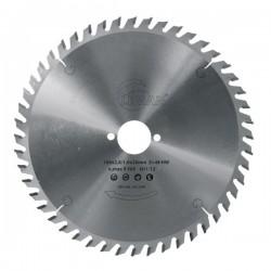Sierra circular 160 mm. con 48 dientes eje 20