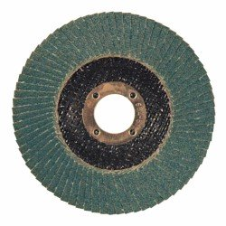 Disco laminado de óxido de circonio 100 mm. grano 80