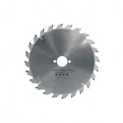 Sierra circular 160 mm. con 24 dientes y eje 20