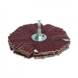 Abanico lijador 125 mm. para taladro grano 80