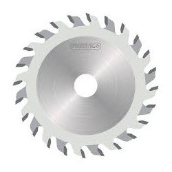 Incisor cónico para ranuras 3,1-4,3 de 125 mm. x 20 eje