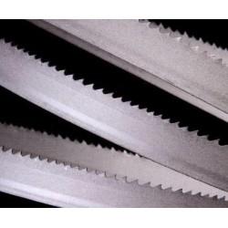 Hoja sierra cinta de 27 mm. Z-2 Bimetalica para madera ce 3.454 mm. para maderas duras y aluminio