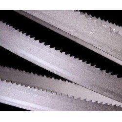 Hoja sierra cinta de 27 mm. Bimetalica para madera con medida de 3.000 a 3.500 mm.