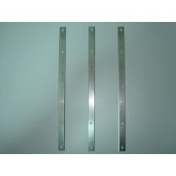Estuche 12 cuchillas reversibles de 410 mm. para máquinas FELDER calidad acero HSS