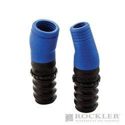 Conectores para extracción de polvo Dust Right® de 19 y 31,8 mm.