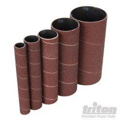 Rodillos de lija 120 mm. grano 240, 5 unidades