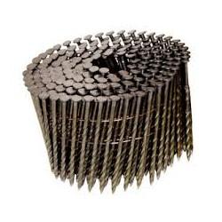 Clavo en bobina ROSCADO 2,5 x 60 mm. caja de 9.000 unidades