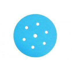 Disco de lija con velcro de 150 mm. y 6 agujeros grano 400