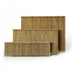 Clavo para clavadora neumática tipo T de 2,2 x 25 mm. caja de 1.000 unidades