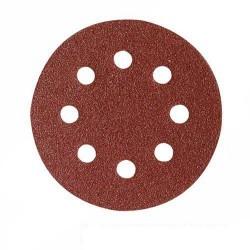 Disco lija de 115 mm. grano 80 con sujeción velcro