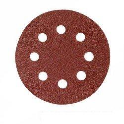 10 Discos lija de 115 mm. grano 120 con velcro referencia 146461