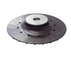 Plato de soporte ABS para discos de fibra de 150 mm.
