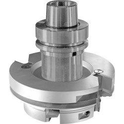 Portacuchillas para CNC o Pantografo fabricado con perfil a medida