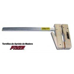Aprieto de madera de 200 x 200 mm. alcance