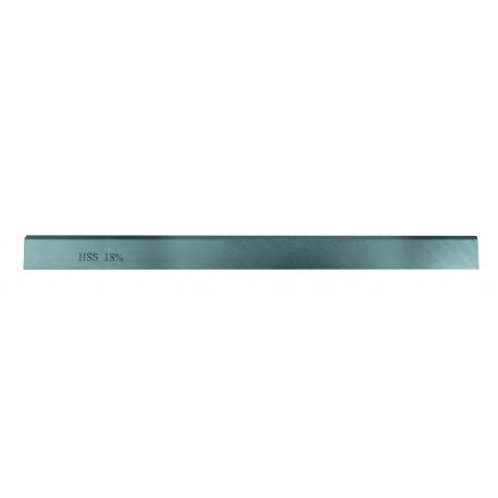 Cuchilla cepillar a máquina HSS 18% 80 x 30 x 3 mm.