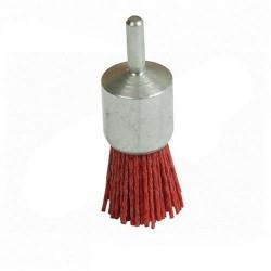Cepillo para taladro de NYLON decapado suave 25 mm.