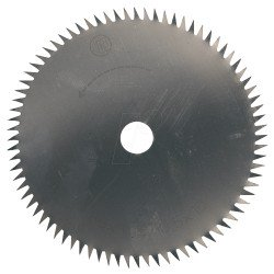 Disco de sierra con metal duro. 80 x 1,6 x 10 mm. 24dientes Ref.28734