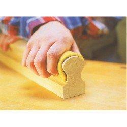 Rollo lija SIASOFT de 115 mm. ancho grano 220 para el lijado de molduras