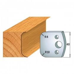 Juego contracuchillas perfiladas para tupi referencia 801.002