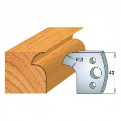 Juego contracuchillas perfiladas para tupi referencia 801.004