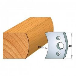 Juego contracuchillas perfiladas para tupi referencia 801.007