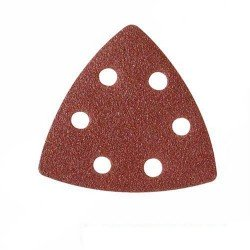 Lija para base triangular de 90 mm. con soporte velcro grano 120