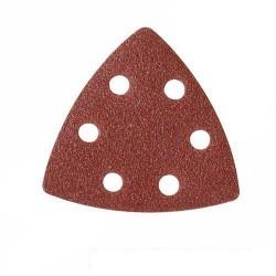 Lija para base triangular de 90 mm. con soporte velcro grano 220