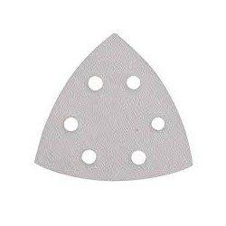 Lija para base triangular de 90 mm. con soporte velcro grano 240