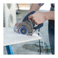 Sierra para corte de piedra en mojado 110 mm, 1250 W