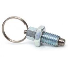 Posicionador en acero de muelle con anilla metrica 8