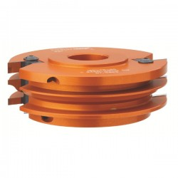Cabezal para moldura y contramoldura de muebles con eje de 40 mm.