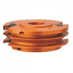 Cabezal para moldura y contramoldura de muebles con eje de 30 mm.