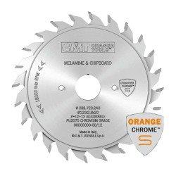 Incisor CROMADO extensible 120 mm. de 2,8 a 3,6 mm.con 20 eje