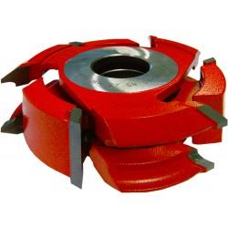 Juego de Fresas Biselar y Redondear maderas de 15 a 60 mm.