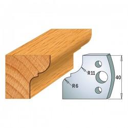 Juego cuchillas perfiladas para tupi referencia 690.112