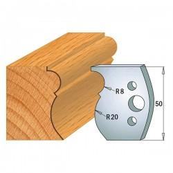 Juego cuchillas perfiladas para tupí ref. 690.500