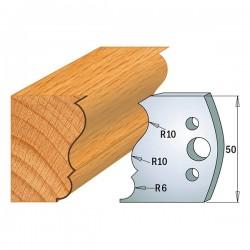 Juego cuchillas perfiladas para tupí ref. 690.505