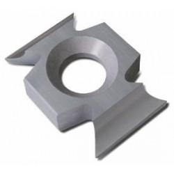 Sector reversible 22 x 16 x 5 mm. a 45º