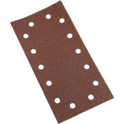 Hojas de lija perforadas con velcro 115 x 230 mm, 10 piezas