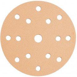 Disco de lija con velcro de 125 mm grano 180