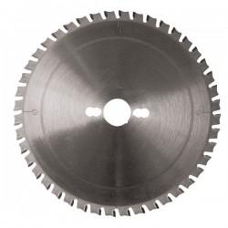 Sierra circular corte aceros y otros metales de 180 mm. con eje 20