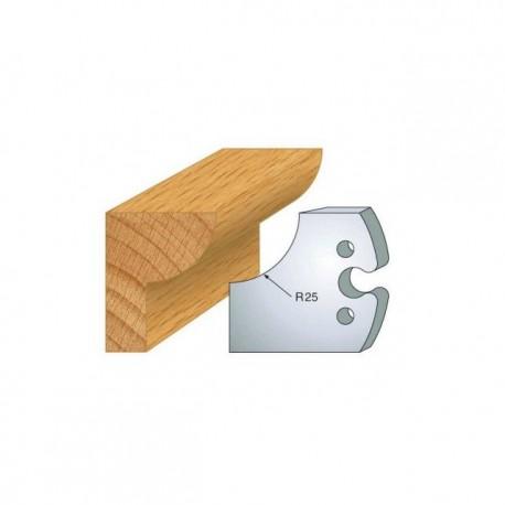 Juego de 2 cuchillas perfiladas de 50 x 5,5 mm. referencia 855.219